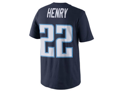 Tennessee Titans Derrick Henry Nike NFL Pride Name and Number T-Shirt