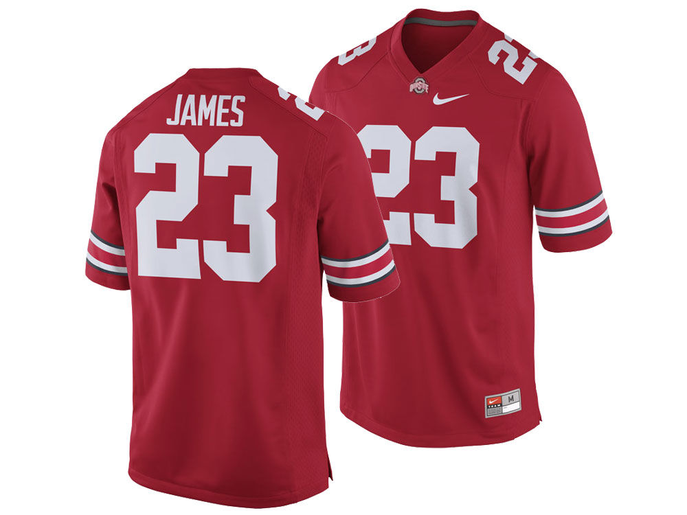 3070525fa Ohio State Buckeyes LeBron James Nike NCAA Men s Football Special Game  Jersey