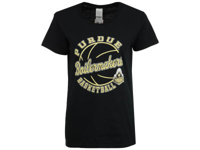 Purdue Boilermakers 2 for $28 J America NCAA Women's Script Slant Ball T-Shirt