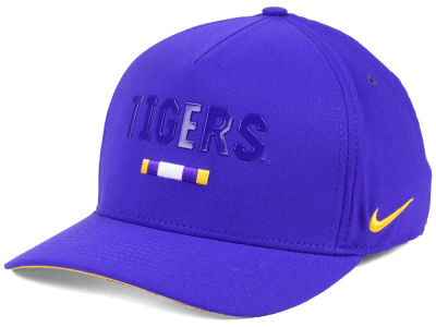 LSU Tigers Nike NCAA Summer Seasonal Swoosh Flex Cap