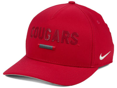 Washington State Cougars Nike NCAA Summer Seasonal Swoosh Flex Cap