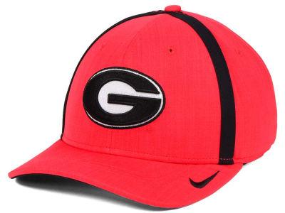 reputable site 7ce00 6312f Georgia Bulldogs Nike NCAA Aerobill Sideline Coaches Cap