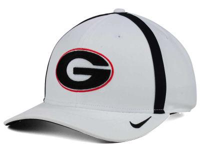 9e20d71077d Georgia Bulldogs Nike NCAA Aerobill Sideline Coaches Cap