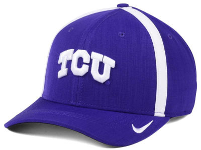 Texas Christian Horned Frogs Nike NCAA Aerobill Sideline Coaches Cap