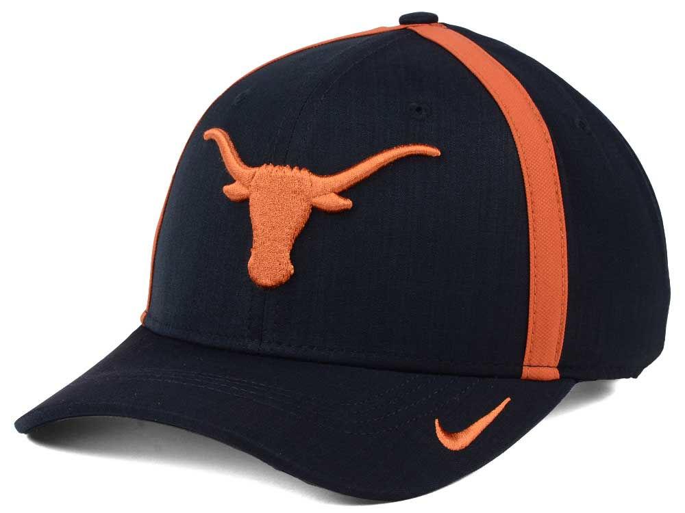 Texas Longhorns Nike NCAA Aerobill Sideline Coaches Cap  11054d686a2