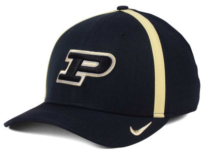 Purdue Boilermakers Nike NCAA Aerobill Classic Sideline Swoosh Flex Cap