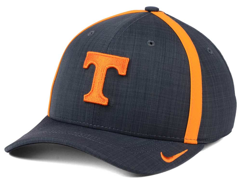 low priced d1de0 eb614 cheapest tennessee volunteers nike ncaa aerobill classic sideline swoosh  flex cap a4cca 3f05a