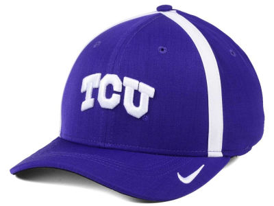 Texas Christian Horned Frogs Nike NCAA Aerobill Classic Sideline Swoosh Flex Cap