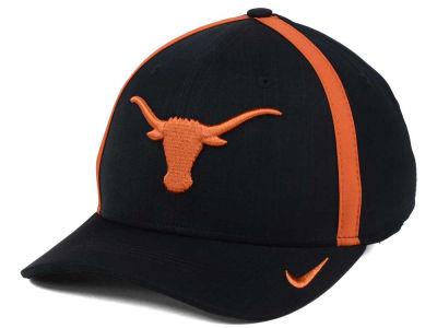best service bfe7f be10b Texas Longhorns Nike NCAA Aerobill Classic Sideline Swoosh Flex Cap