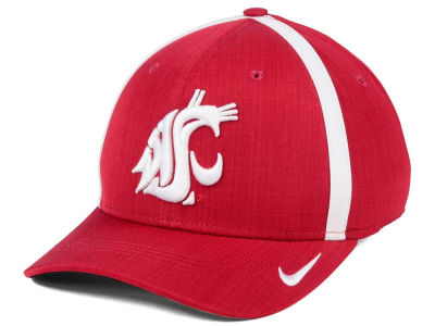417af5c0c729a ... italy washington state cougars nike ncaa aerobill classic sideline  swoosh flex cap d8320 d8311
