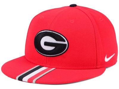 2f09d6ab2e7 Georgia Bulldogs Nike NCAA Sideline True Snapback Cap
