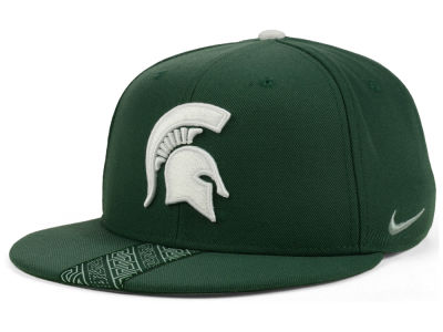 Michigan State Spartans Nike NCAA Sideline True Snapback Cap