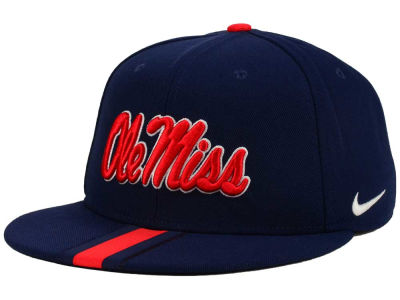 Ole Miss Rebels Nike NCAA Sideline True Snapback Cap