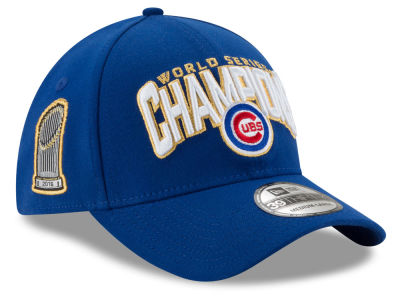 Chicago Cubs New Era 2016 MLB World Series Champ LR Team Color 39THIRTY Cap