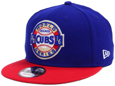 Chicago Cubs New Era MLB 2016 World Series Patch 9FIFTY Snapback Cap