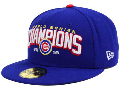 Chicago Cubs New Era MLB 2016 World Series Collection 59FIFTY Cap