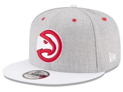 Atlanta Hawks New Era NBA White Vize 9FIFTY Snapback Cap