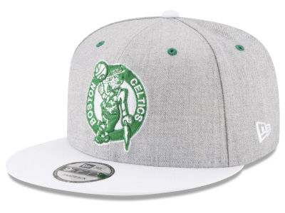 Boston Celtics New Era NBA White Vize 9FIFTY Snapback Cap