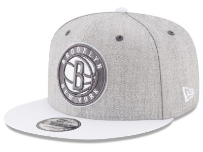 Brooklyn Nets New Era NBA White Vize 9FIFTY Snapback Cap