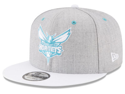 Charlotte Hornets New Era NBA White Vize 9FIFTY Snapback Cap