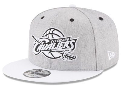 Cleveland Cavaliers New Era NBA White Vize 9FIFTY Snapback Cap
