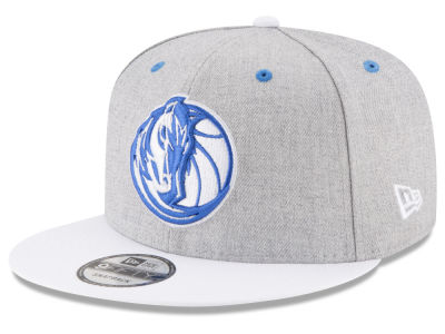 Dallas Mavericks New Era NBA White Vize 9FIFTY Snapback Cap