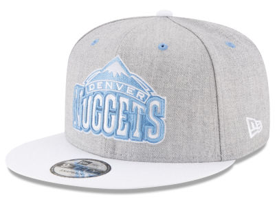 Denver Nuggets New Era NBA White Vize 9FIFTY Snapback Cap