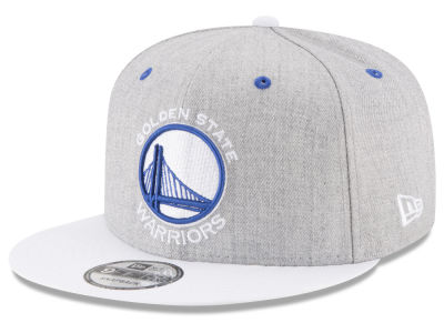 Golden State Warriors New Era NBA White Vize 9FIFTY Snapback Cap