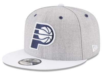 Indiana Pacers New Era NBA White Vize 9FIFTY Snapback Cap
