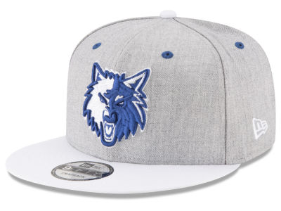 Minnesota Timberwolves New Era NBA White Vize 9FIFTY Snapback Cap