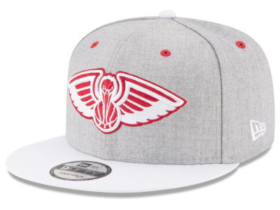 New Orleans Pelicans New Era NBA White Vize 9FIFTY Snapback Cap