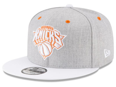 New York Knicks New Era NBA White Vize 9FIFTY Snapback Cap