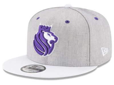 Sacramento Kings New Era NBA White Vize 9FIFTY Snapback Cap