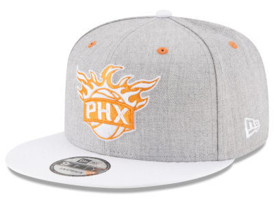 Phoenix Suns New Era NBA White Vize 9FIFTY Snapback Cap