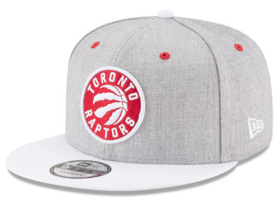 Toronto Raptors New Era NBA White Vize 9FIFTY Snapback Cap