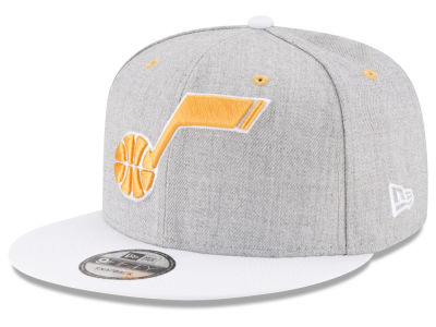 Utah Jazz New Era NBA White Vize 9FIFTY Snapback Cap