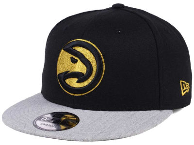 Atlanta Hawks New Era NBA Gold Tip Off 9FIFTY Snapback Cap