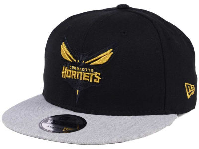 Charlotte Hornets New Era NBA Gold Tip Off 9FIFTY Snapback Cap