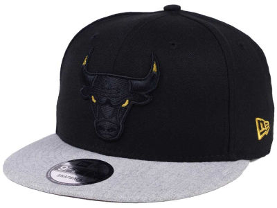 Chicago Bulls New Era NBA Gold Tip Off 9FIFTY Snapback Cap