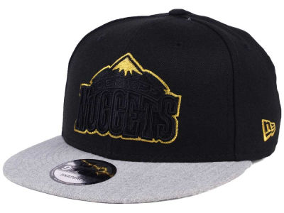 Denver Nuggets New Era NBA Gold Tip Off 9FIFTY Snapback Cap
