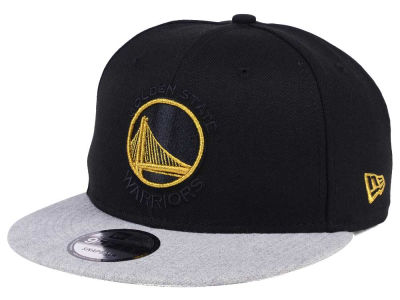 Golden State Warriors New Era NBA Gold Tip Off 9FIFTY Snapback Cap
