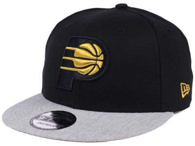 Indiana Pacers New Era NBA Gold Tip Off 9FIFTY Snapback Cap
