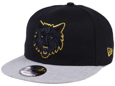 Minnesota Timberwolves New Era NBA Gold Tip Off 9FIFTY Snapback Cap