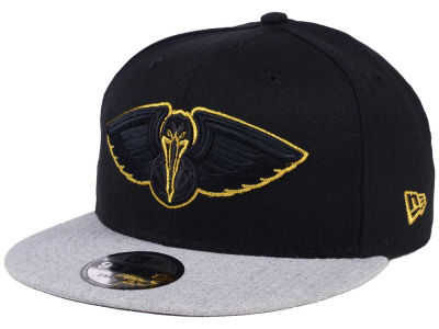 New Orleans Pelicans New Era NBA Gold Tip Off 9FIFTY Snapback Cap