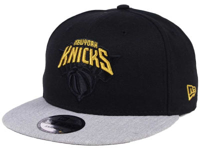 New York Knicks New Era NBA Gold Tip Off 9FIFTY Snapback Cap