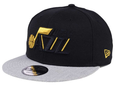Utah Jazz New Era NBA Gold Tip Off 9FIFTY Snapback Cap