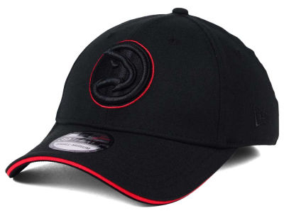 Atlanta Hawks New Era NBA Black Pop 39THIRTY Cap