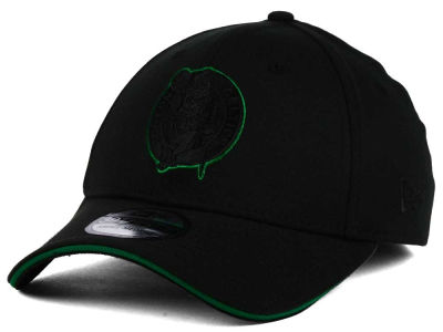 Boston Celtics New Era NBA Black Pop 39THIRTY Cap