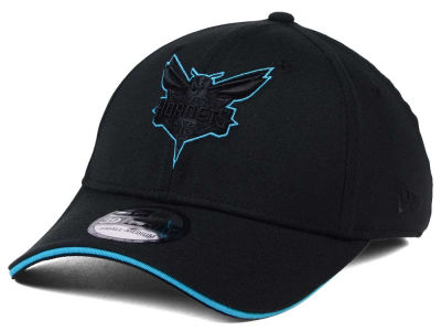 Charlotte Hornets New Era NBA Black Pop 39THIRTY Cap