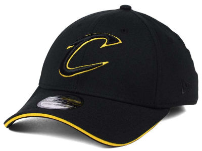 Cleveland Cavaliers New Era NBA Black Pop 39THIRTY Cap